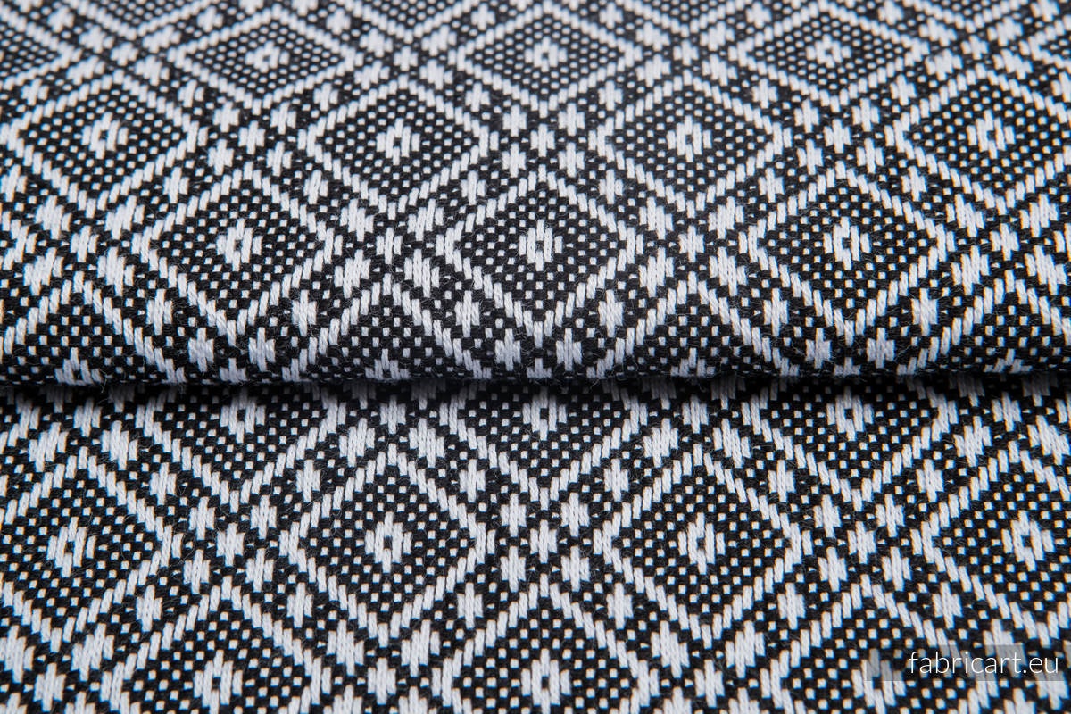 CARRE OLYMPIA, fabric quarters, jacquard, size 50cm x 70cm #babywearing