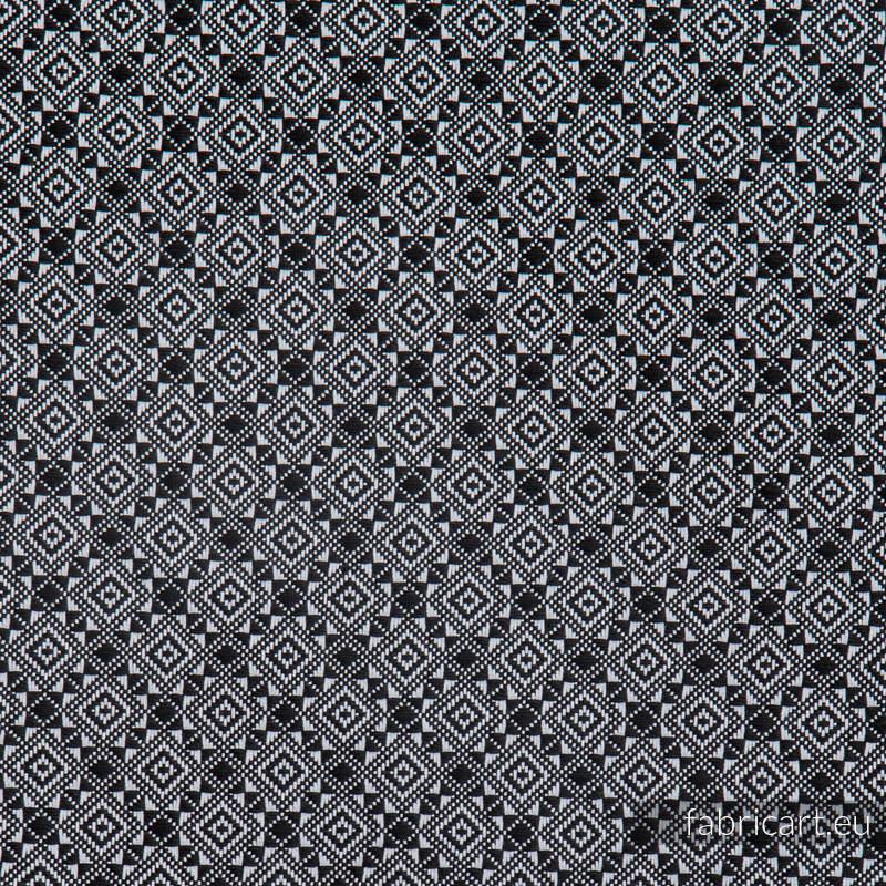 CARRE CAROLE, ćwiartka tkaniny, splot żakardowy, rozmiar 50cm x 70cm #babywearing