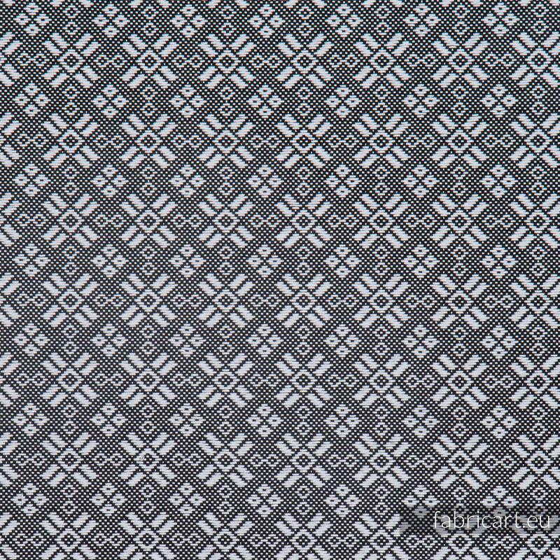 CARRE TRISTAN, ćwiartka tkaniny, splot żakardowy, rozmiar 50cm x 70cm #babywearing