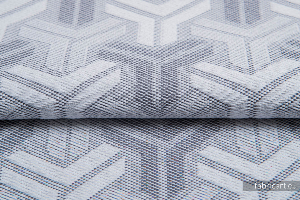 TRINITY SILVER, fabric quarters, jacquard, size 50cm x 70cm #babywearing