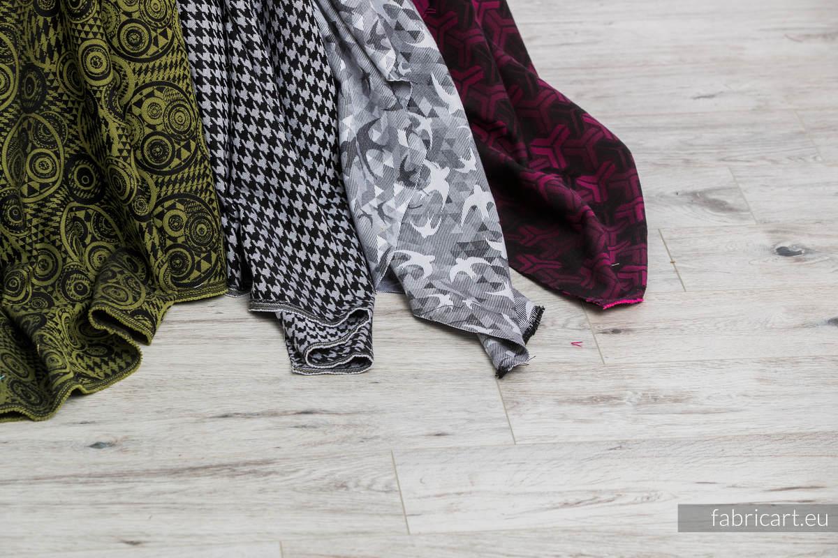 PEPITKA CLASSIC, ćwiartka tkaniny, splot żakardowy, rozmiar 50cm x 70cm #babywearing