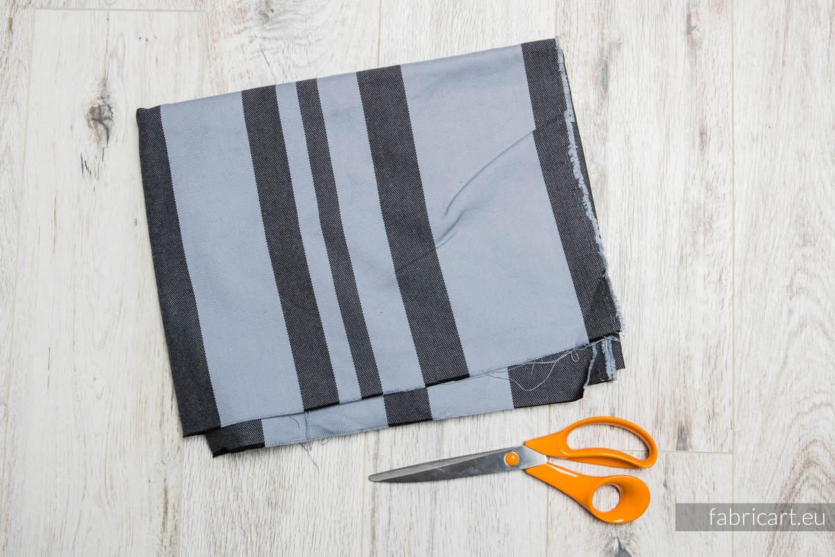 GWIEZDNY PYŁ, kupon tkaniny, splot skośno-krzyżowy, rozmiar 200cm x 70cm #babywearing