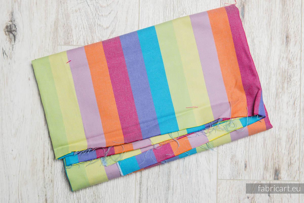 RAFA KORALOWA, kupon tkaniny, splot skośno-krzyżowy, rozmiar 200cm x 70cm #babywearing