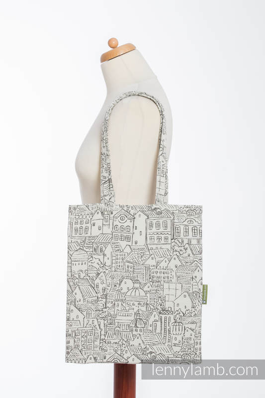 Shopping bag made of wrap fabric (100% cotton) - PANORAMA  #babywearing