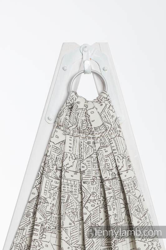 Ringsling, Jacquard Weave (100% cotton) - PANORAMA   #babywearing