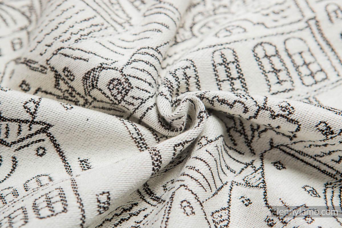 Baby Wrap, Jacquard Weave (100% cotton) - PANORAMA  - size S (grade B) #babywearing