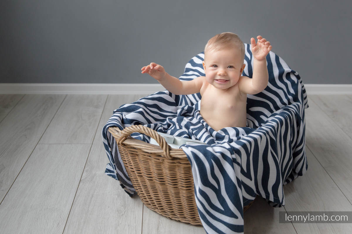 Swaddle Wrap Set - ZEBRA NAVY BLUE & WHITE, GIRAFFE BROWN & CREAM #babywearing