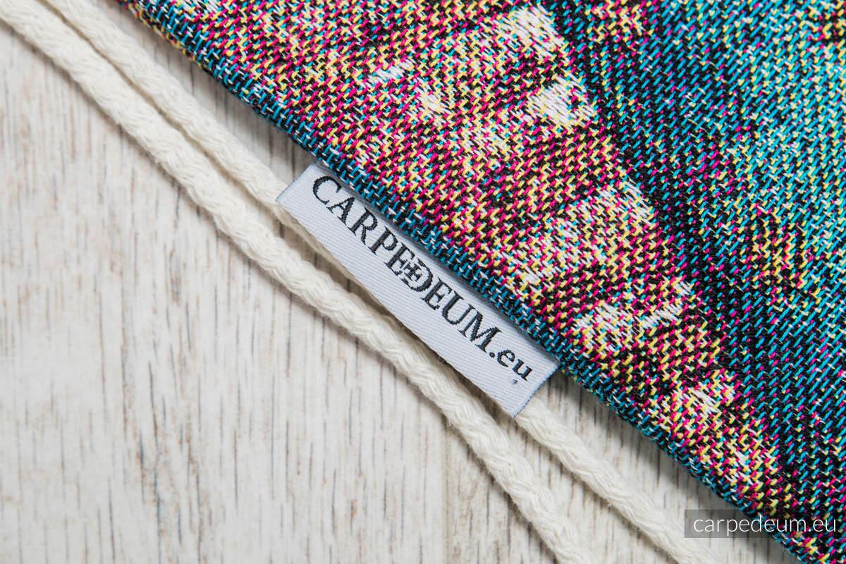 Plecak/worek z materiału żakardowego, (100% bawełna) - MATKA BOŻA GUADALUPE - uniwersalny rozmiar 35cmx45cm #babywearing