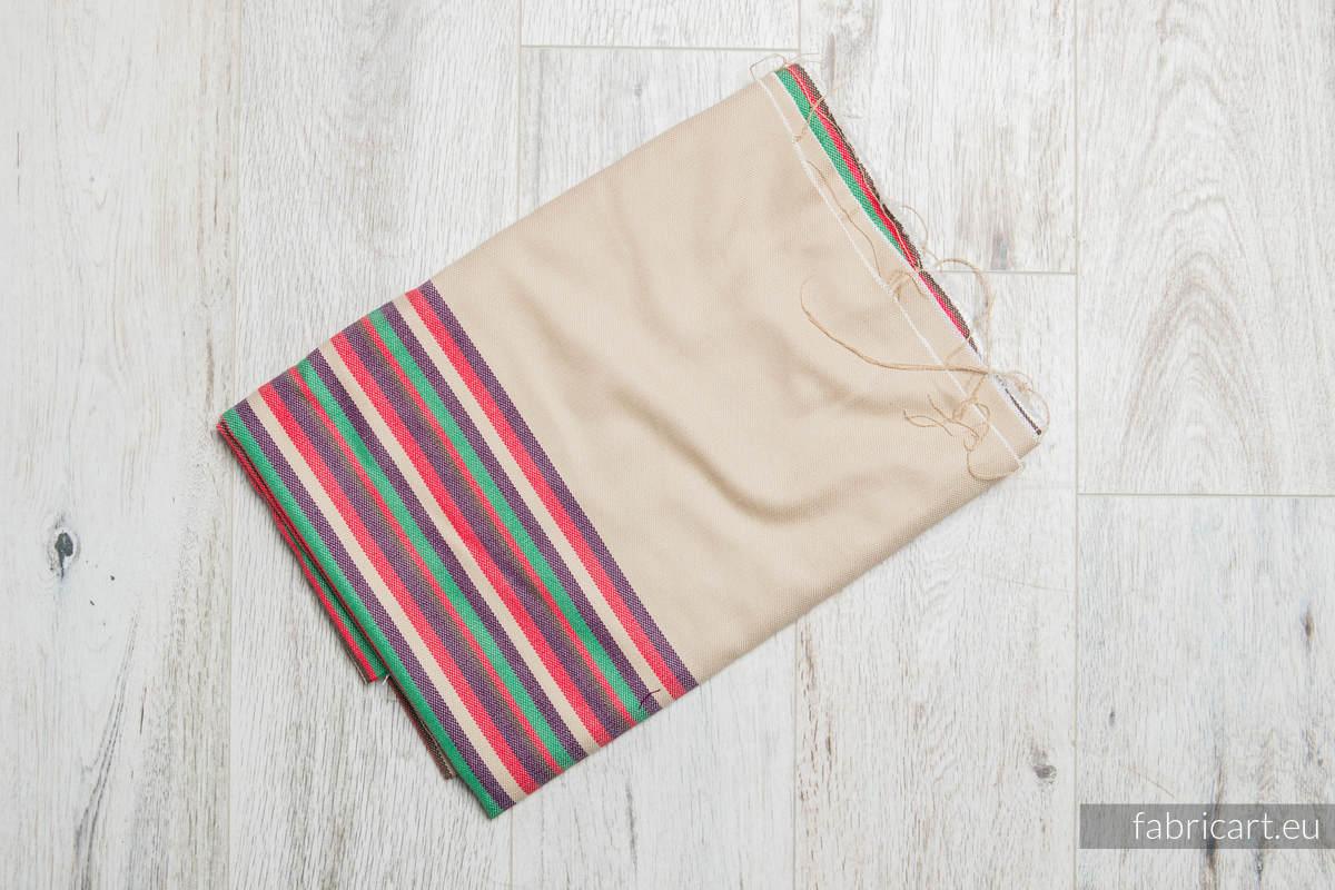 PUSTYNNA RÓŻA, kupon tkaniny, splot skośno-krzyżowy, rozmiar 100cm x 140cm #babywearing