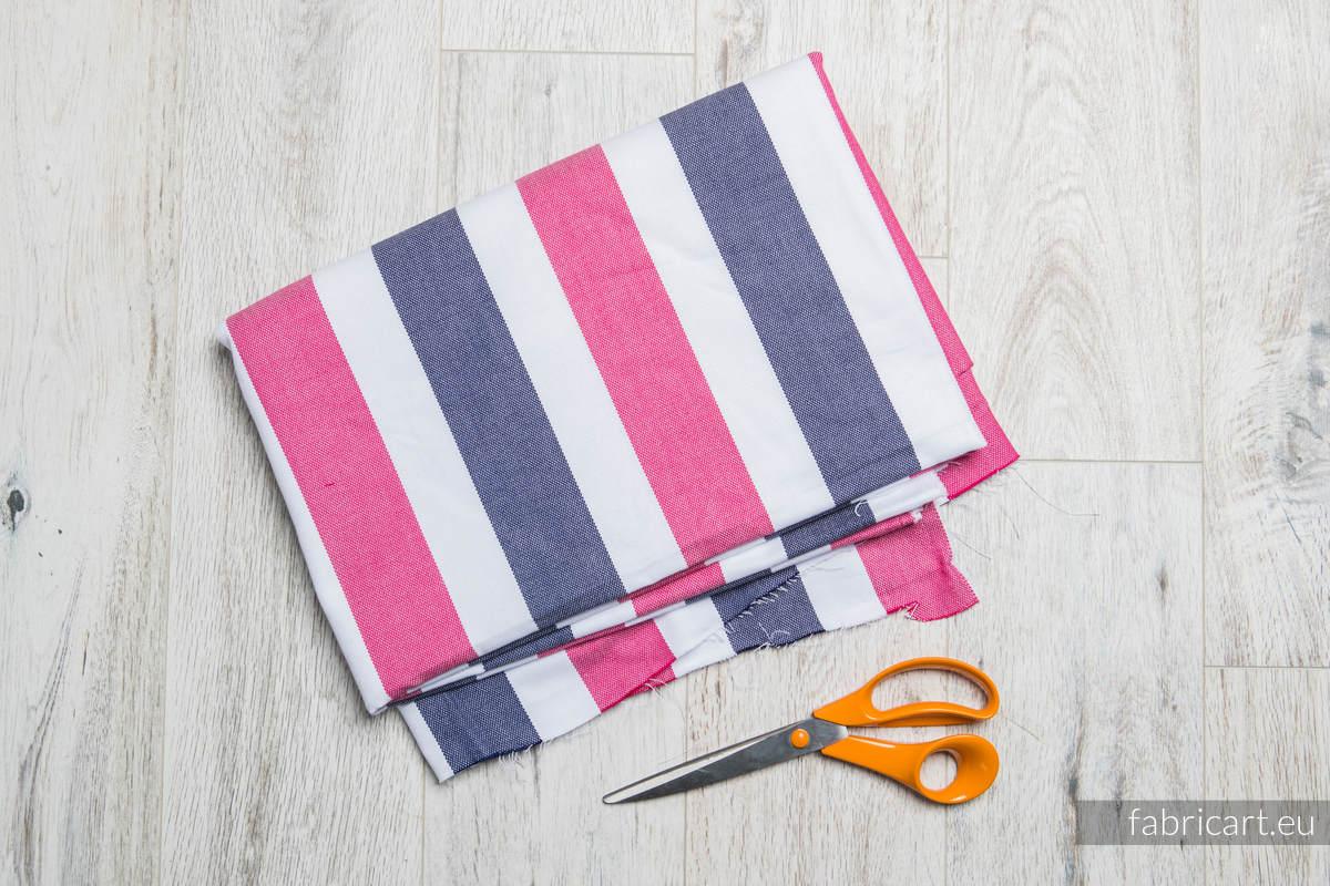 MARSYLIANKA, kupon tkaniny, splot skośno-krzyżowy, rozmiar 130cm x 140cm #babywearing