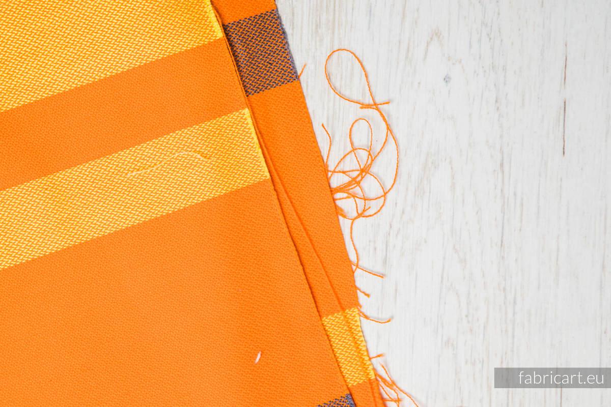 AUTUMN FANTASY, fabric scrap, broken twill weave, size 180cm x 140cm #babywearing