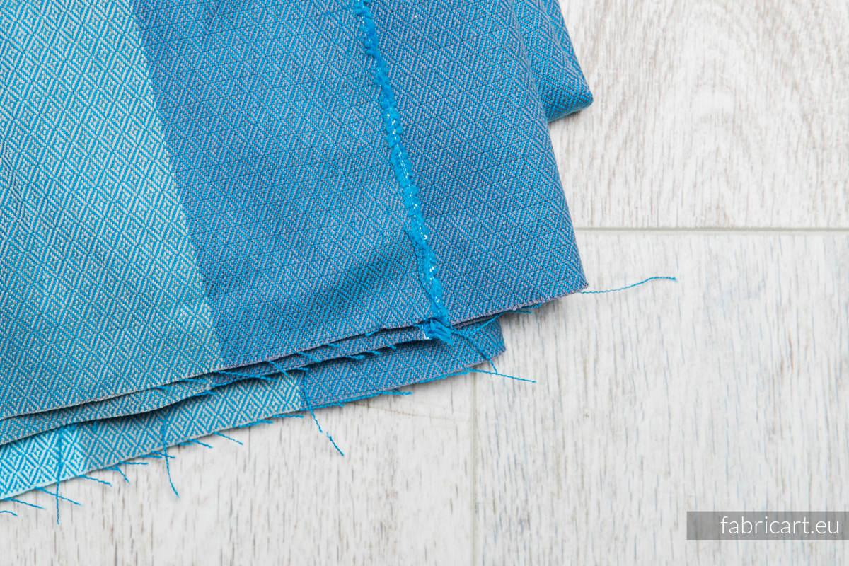 FINNISH DIAMOND, fabric scrap, diamond weave, size 100cm x 140cm #babywearing