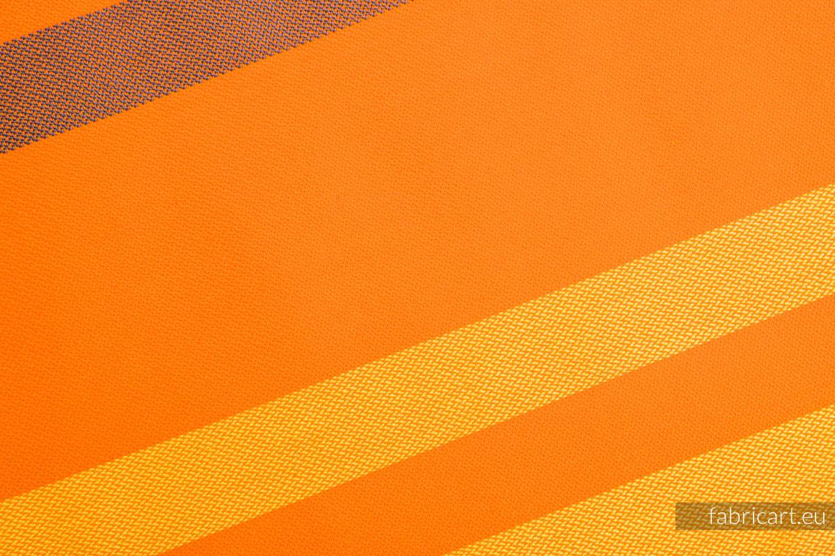 AUTUMN FANTASY, fabric scrap, broken twill weave, size 100cm x 140cm #babywearing