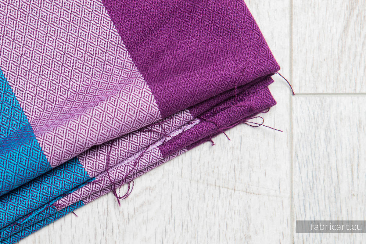 NORWEGIAN DIAMOND, fabric scrap, diamond weave, size 200cm x 70cm #babywearing