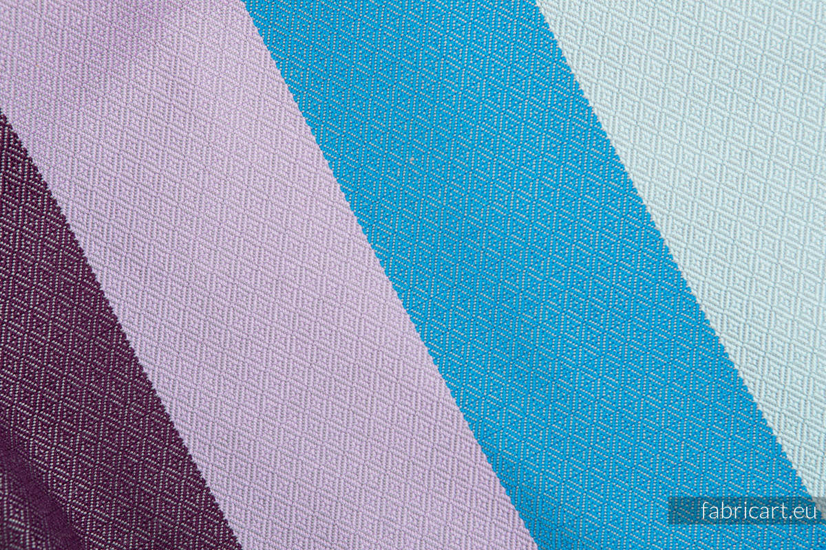 ICELANDIC DIAMOND, fabric scrap, diamond weave, size 200cm x 140cm #babywearing