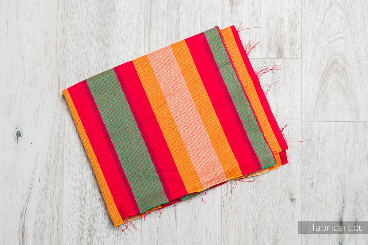 AUTUMN, fabric scrap, broken twill weave, size 200cm x 140cm #babywearing