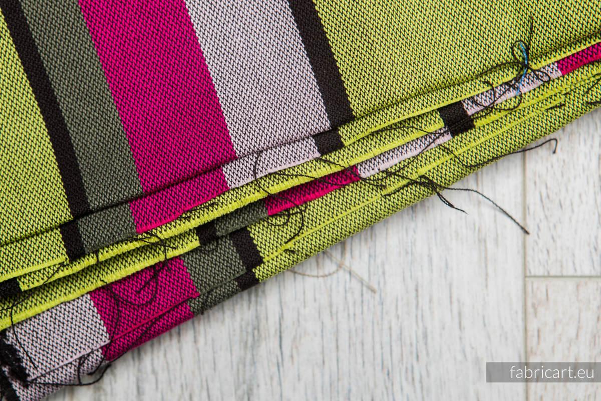LIMONKA KHAKI, kupon tkaniny, splot skośno-krzyżowy, rozmiar 100cm x 140cm #babywearing