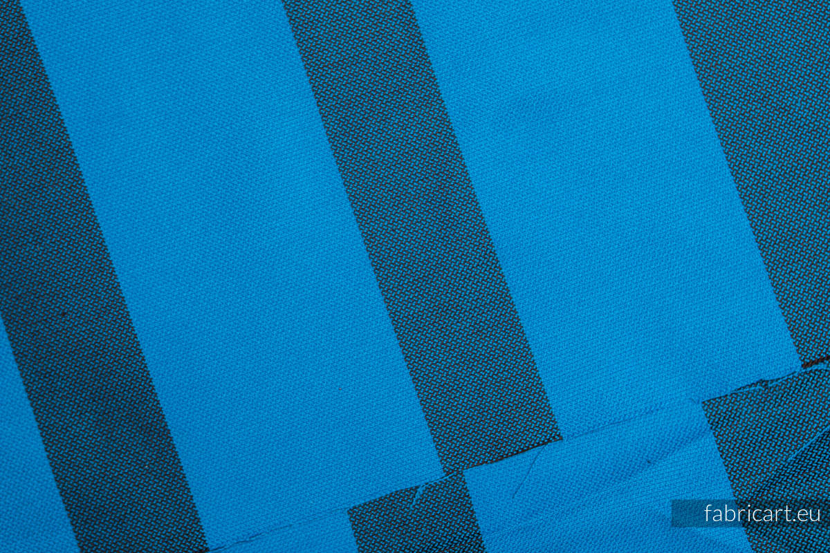 GŁĘBIA OCEANU, kupon tkaniny, splot skośno-krzyżowy, rozmiar 130cm x 140cm #babywearing