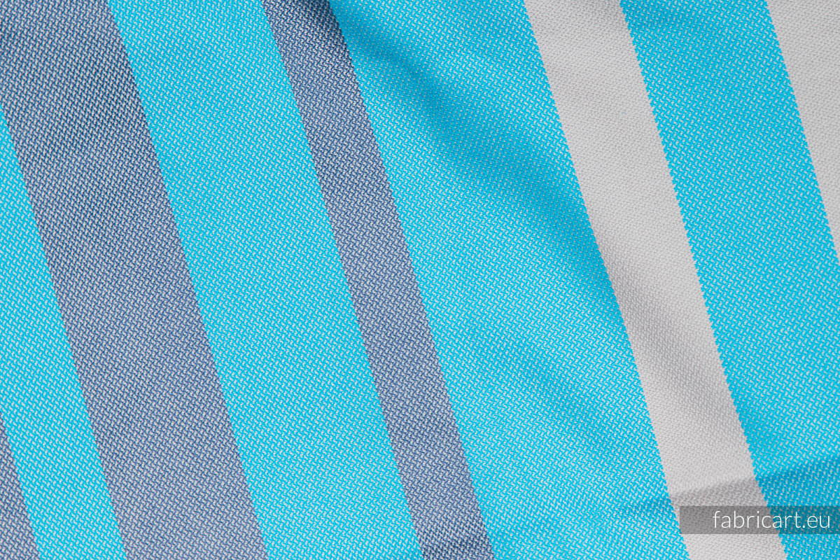 MISTY MORNING, fabric scrap, broken twill weave, size 100cm x 140cm #babywearing