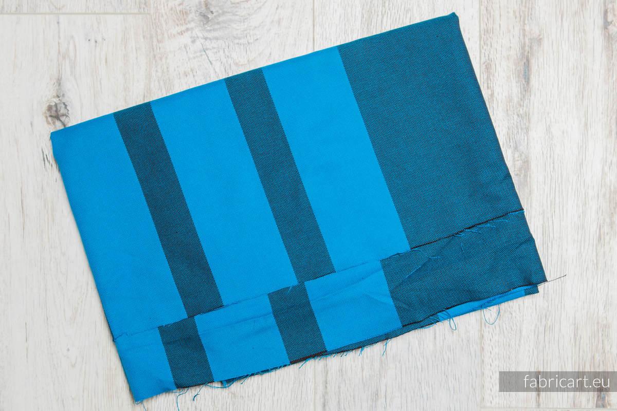 GŁĘBIA OCEANU, kupon tkaniny, splot skośno-krzyżowy, rozmiar 100cm x 140cm #babywearing