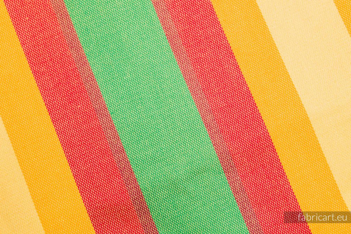 LATO, kupon tkaniny, splot skośno-krzyżowy, rozmiar 130cm x 140cm #babywearing