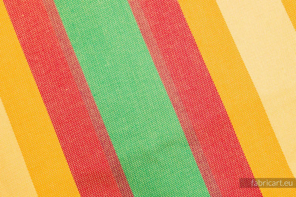 SUMMER, fabric scrap, broken twill weave, size 180cm x 140cm #babywearing