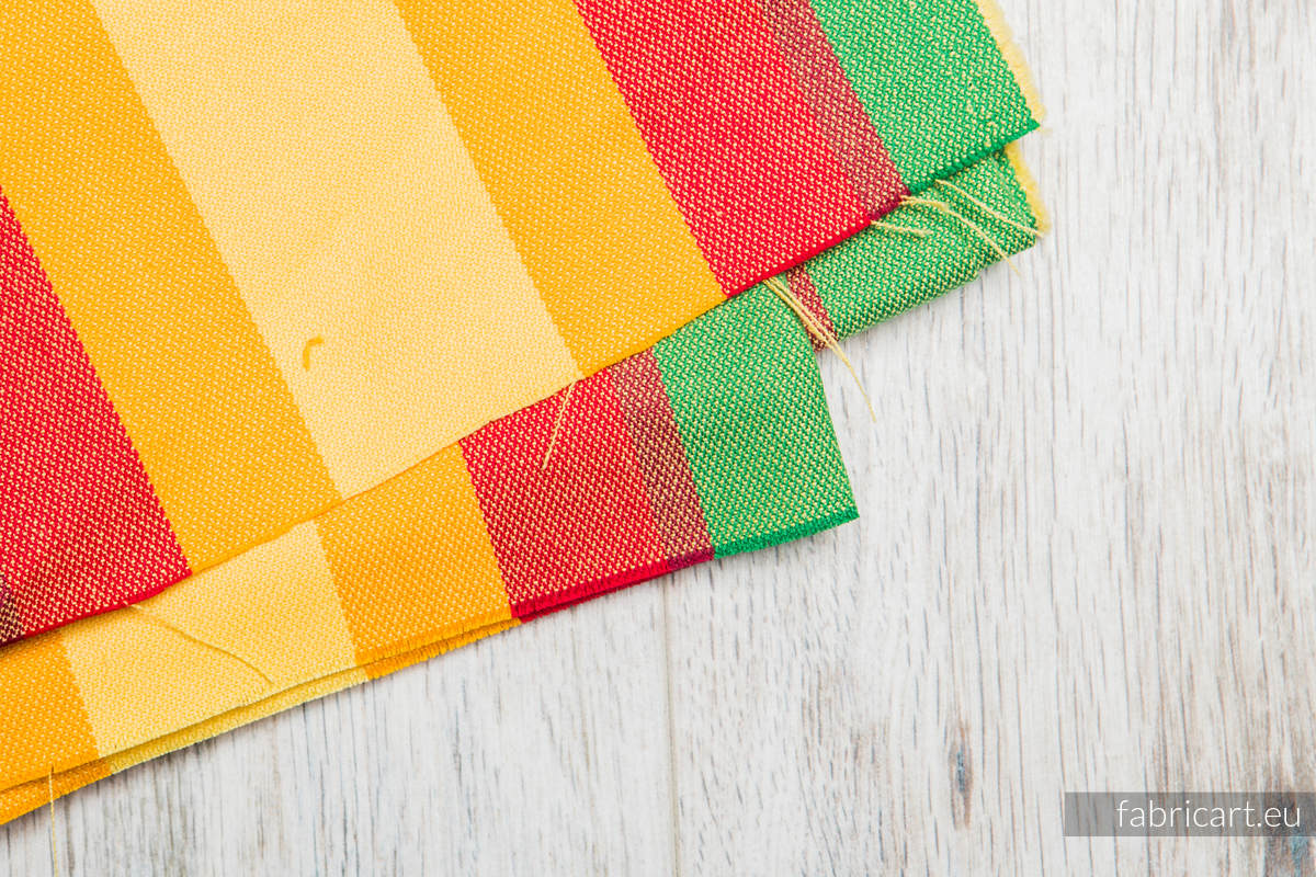 SUMMER, fabric scrap, broken twill weave, size 200cm x 70cm #babywearing