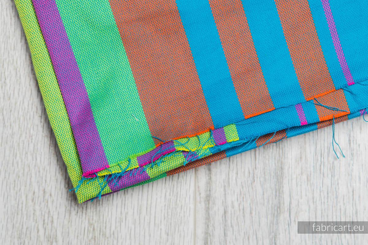 ZUMBA NIEBIESKA, kupon tkaniny, splot skośno-krzyżowy, rozmiar 200cm x 140cm #babywearing