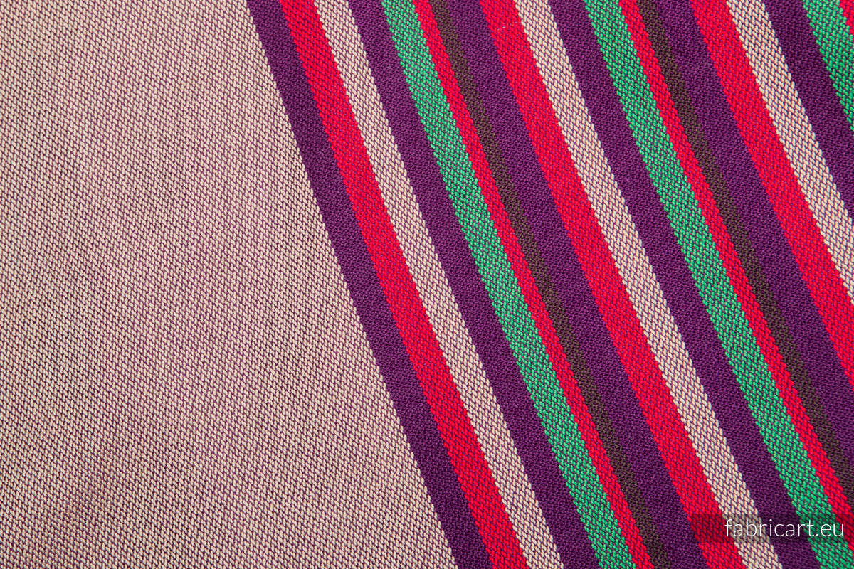HEATHER NIGHTS, fabric scrap, broken twill weave, size 100cm x 140cm #babywearing