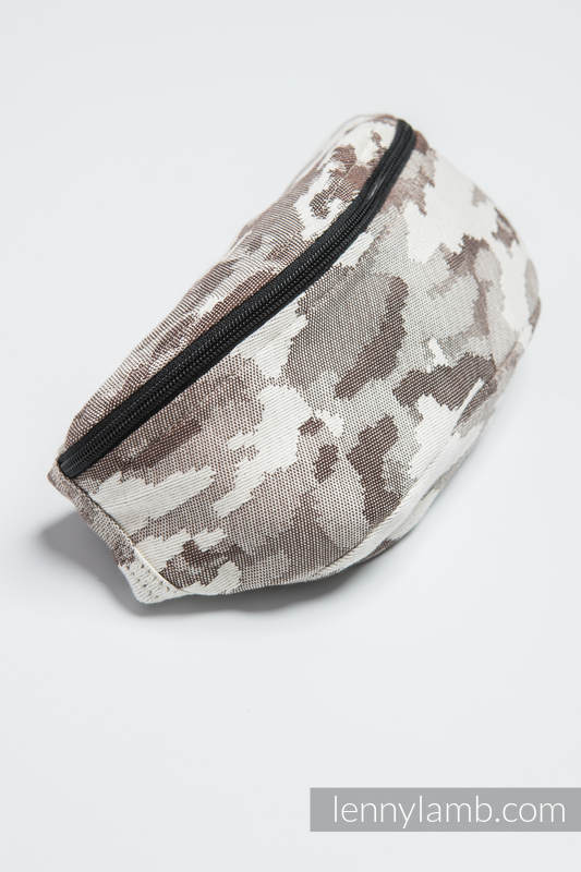 Waist Bag made of woven fabric, (100% cotton) - BEIGE CAMO #babywearing