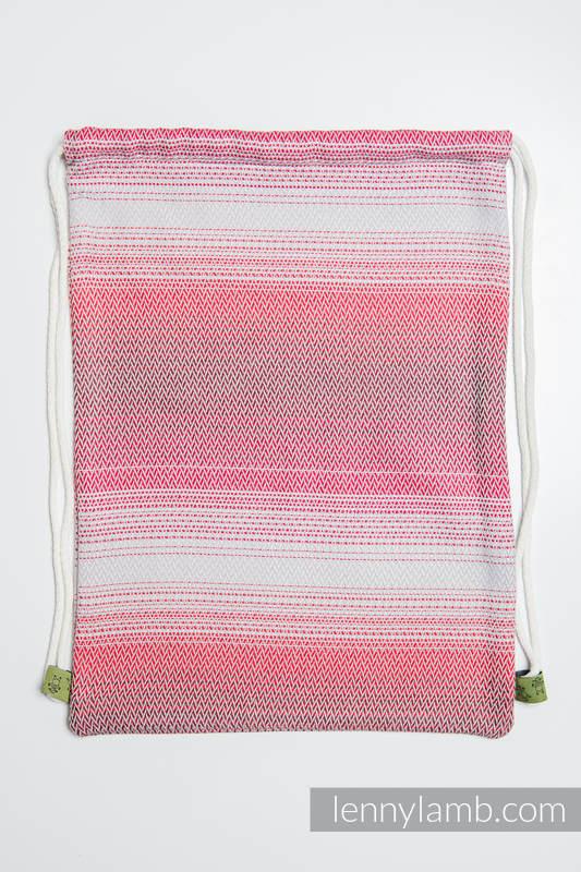 Sackpack made of wrap fabric (100% cotton) - LITTLE HERRINGBONE ELEGANCE - standard size 32cmx43cm #babywearing