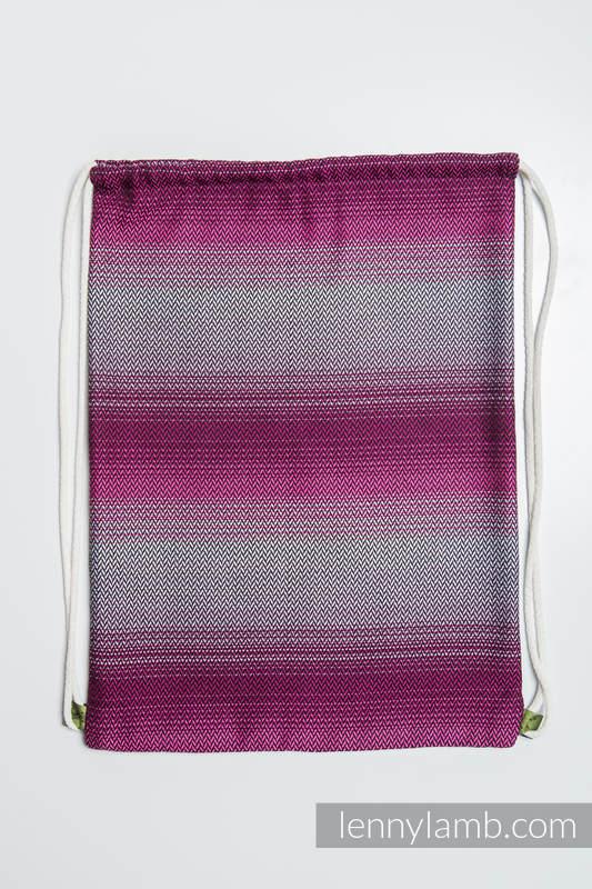 Sackpack made of wrap fabric (100% cotton) - LITTLE HERRINGBONE INSPIRATION - standard size 32cmx43cm #babywearing