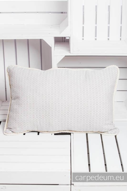 Poduszka żakardowa, (100% bawełna) - CHARBEL MAKHLOUF - uniwersalny rozmiar 62cmx43cm #babywearing
