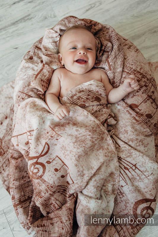 Swaddle Wrap Set - SYMPHONY BROWN & CREAM, CHEETAH BROWN & WHITE #babywearing