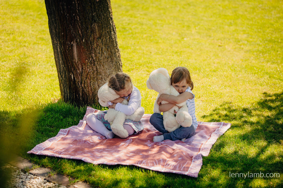 Woven Blanket Two Side Story (100% cotton) (grade B) #babywearing