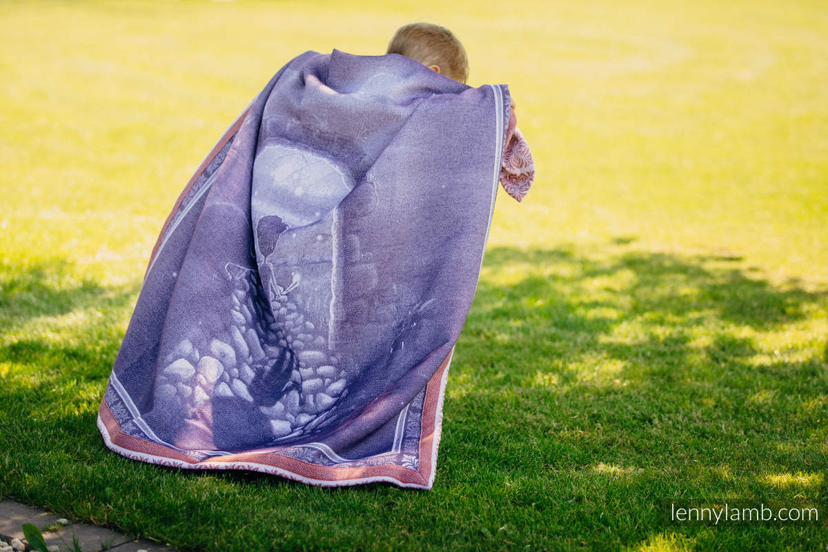 Woven Blanket Two Side Story (100% cotton)  #babywearing