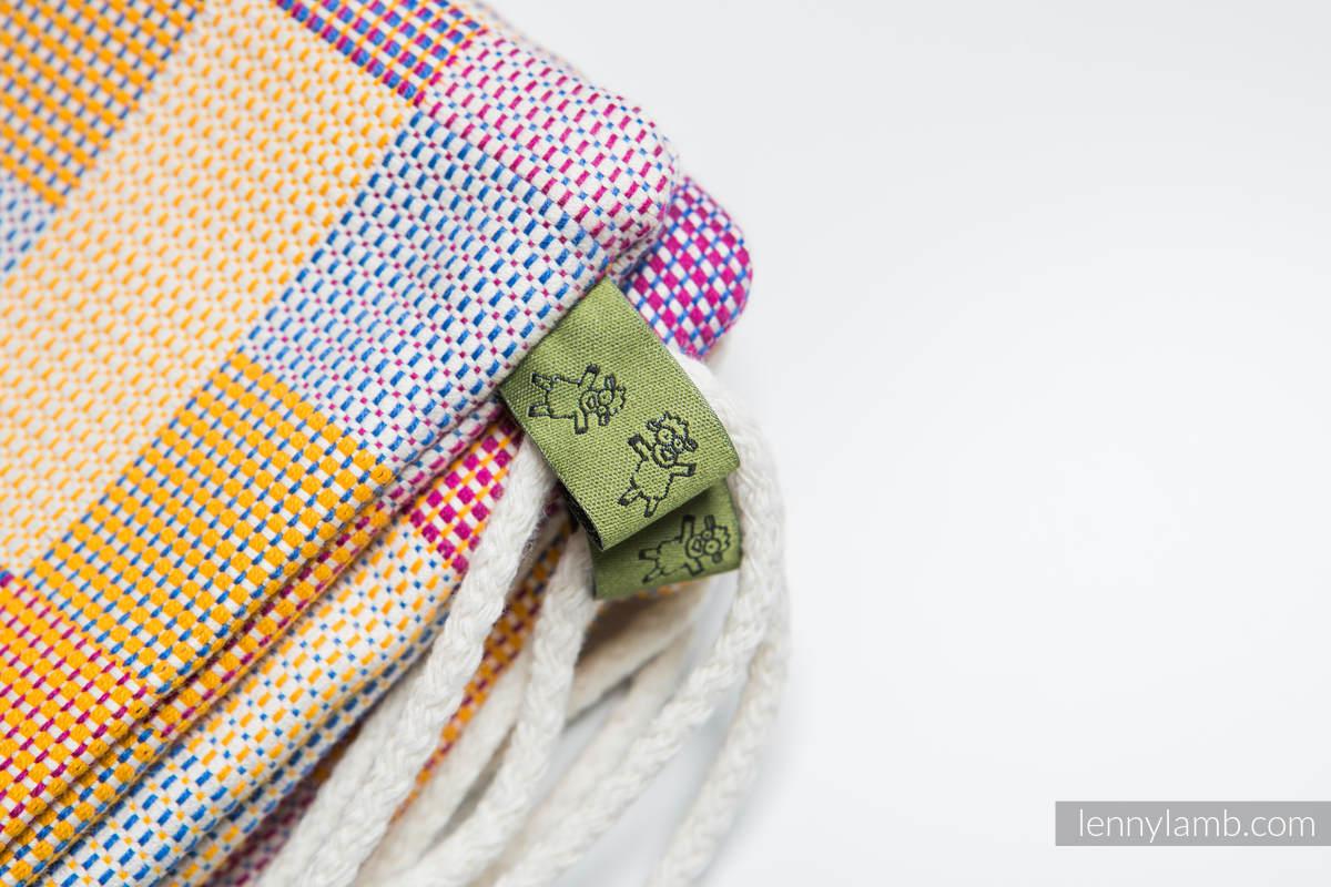 Plecak/worek - 100% bawełna - KWARTET- uniwersalny rozmiar 32cmx43cm (drugi gatunek) #babywearing