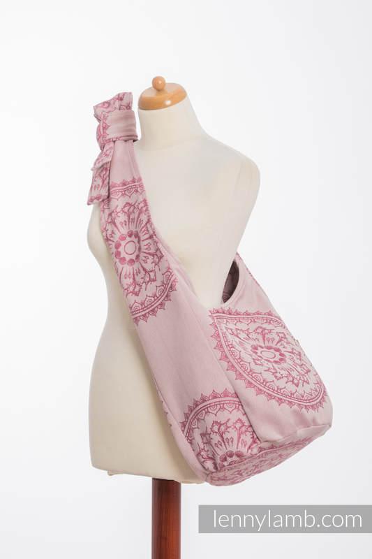 Hobo Bag made of woven fabric, 100% cotton - SANDY SHELLS  #babywearing
