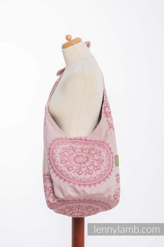 Hobo Bag made of woven fabric, 100% cotton - SANDY SHELLS (grade B) #babywearing