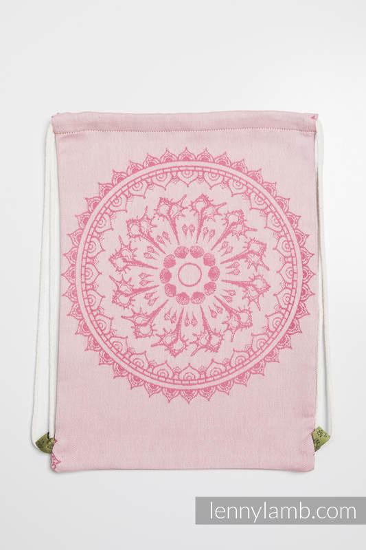 Plecak/worek - 100% bawełna - PIASKOWE MUSZELKI - uniwersalny rozmiar 32cmx43cm #babywearing