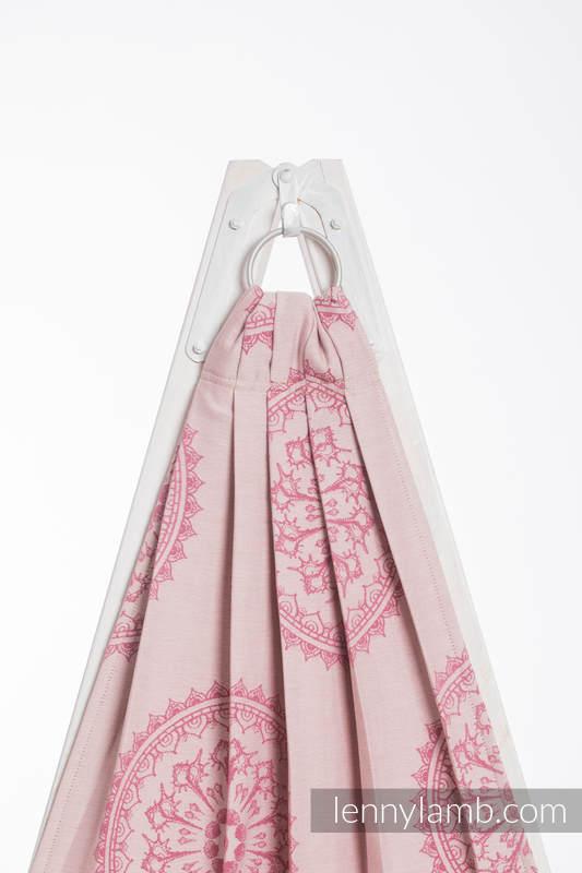 Ringsling, Jacquard Weave (100% cotton) - SANDY SHELLS - long 2.1m #babywearing