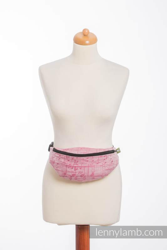 Waist Bag made of woven fabric, (60% cotton, 40% linen) - ENCHANTED SYMPHONY #babywearing