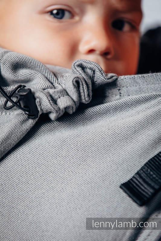 Basic Line Ergonomic Carrier - CALCITE, Toddler Size, satin weave 100% cotton - Second Generation (grade B) #babywearing