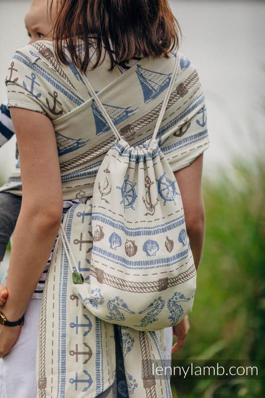 Plecak/worek - 100% bawełna - BALTICA 2.0 - uniwersalny rozmiar 32cmx43cm #babywearing