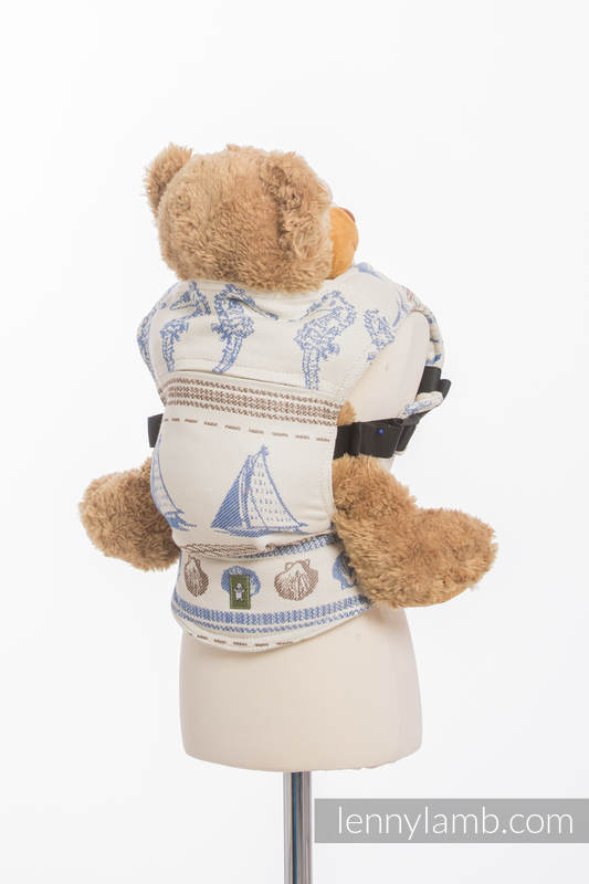 Doll Carrier made of woven fabric, 100% cotton - BALTICA 2.0 #babywearing