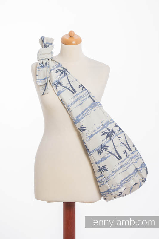 Hobo Bag made of woven fabric, 100% cotton - PARADISE ISLAND  #babywearing