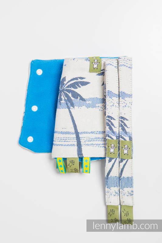 Set de protege tirantes y tiras de alcance (60% algodón, 40% Poliéster) - PARADISE ISLAND #babywearing
