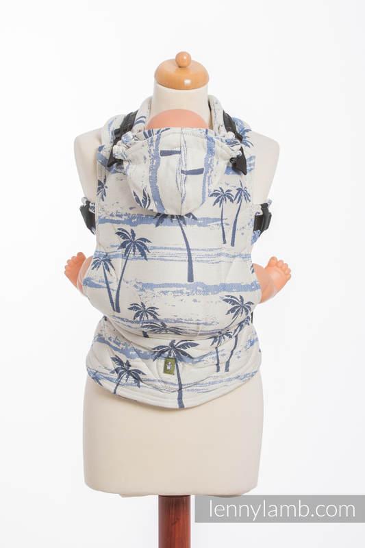 Nosidełko Ergonomiczne z tkaniny żakardowej 100% bawełna , Baby Size, RAJSKA WYSPA - Druga Generacja #babywearing