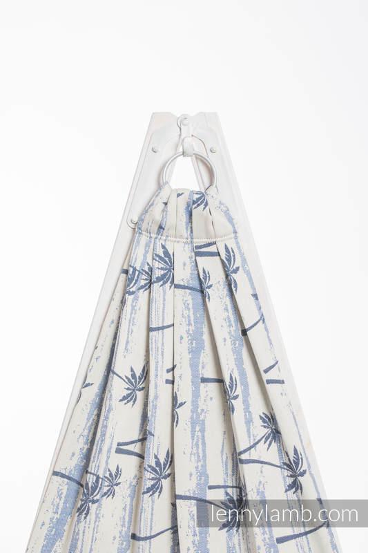 Żakardowa chusta kółkowa do noszenia dzieci, bawełna - RAJSKA WYSPA - long 2.1m (drugi gatunek) #babywearing
