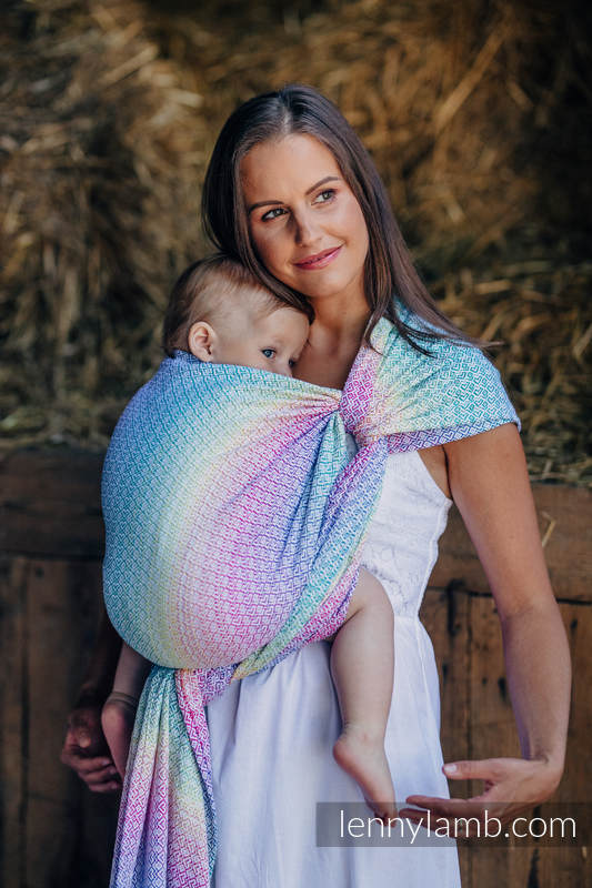 Baby Wrap Jacquard Weave 80 Cotton 20 Bamboo Little Love